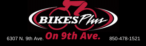 Bikes Plus on 9th – Scott Bikes – KHS Bikes – Local Bike Shop Pensacola Logo